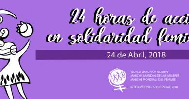 Marcha Mundial de las Mujeres: 24 Horas de Acción y Solidaridad Feminista alrededor del Mundo