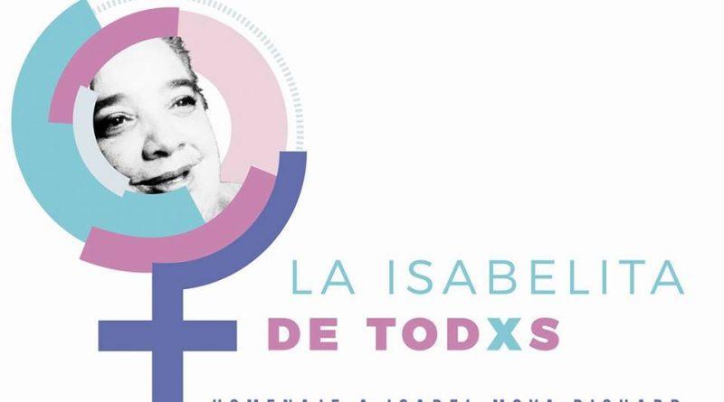 Homenaje a Isabel Moya en el I Taller Nacional de Comunicación, Género y Equidad