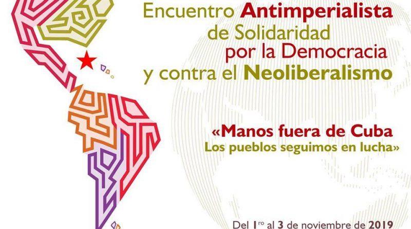 Convocan a Jornada Continental por la Democracia y contra el Neoliberalismo.
