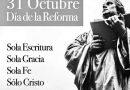Hoy se conmemora la reforma protestante.